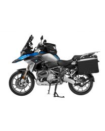 "ZEGA Evo aluminium pannier system ""And-Black"" 31/38 litres with stainless steel rack for BMW R1250GS/ R1250GS Adventure/ R1200GS (LC)/ R1200GS Adventure (LC)"