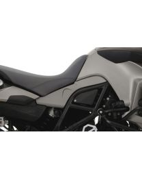 Touratech Side lids BMW F800GS up to 2012. Darkmagnesium metallic matt