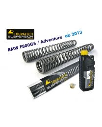 Touratech Progressive fork springs for BMW F800GS / Adventure *from 2013*