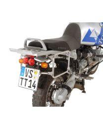 Pannier Racks for pannier case Zega Pro for BMW R1150GS/ R1150GS Adventure/ R1100GS/ R850GS stainless steel