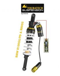 Touratech Suspension shock absorber for BMW R100GS/PD & R80GS from 1988 type Extreme