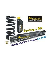 Touratech Hyperpro progressive replacement springs for fork and shock absorber. Honda XL600V Transalp 1989-2000 *replacement springs*