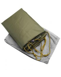 Custom-sized floor for MSR Pappa Hubba NX 4 Person tent