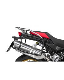 Stainless steel pannier rack. black for BMW F850GS/ F850GS Adventure/ F750GS