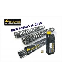 Touratech Progressive fork springs for BMW F850GS from 2018