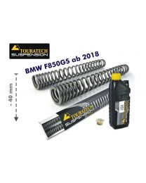 Touratech Progressive fork springs for BMW F850GS/BMW F850GS Adventure ab 2018 from 2018 -40mm lowering