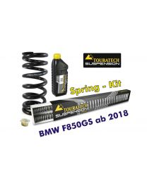 Touratech Progressive replacement springs for fork and shock absorber. für BMW F850GS from 2018