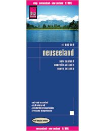 Map Reise-Know-How publishing house New Zealand 1:1.000.000