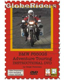 Learn from one of the world's masters how to prepare for adventure touring on a motorcycle. This 2 hour instructional DVD is focused on the BMW F650GS