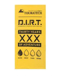 "Touratech Multi functional head cloth ""Enduro Frenzy"", yellow, 30 Years"