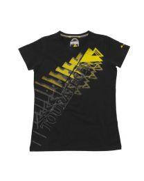 "T-shirt ""Triangle"" women. black"