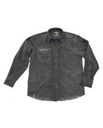 "Shirt ""Adventure Equipment"" men. grey size:m"
