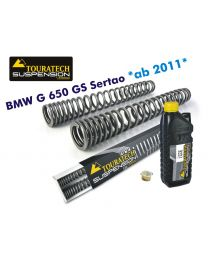 Touratech Progressive fork springs for BMW G650GS Sertao *from 2011*