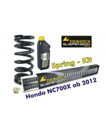 Touratech Hyperpro progressive replacement springs for fork and shock absorber for Honda NC700X from 2012 *replacement springs*