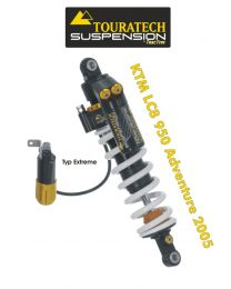 Touratech Suspension shock absorber for KTM LC8 950 Adventure from 2005 type Extreme