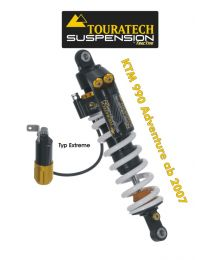Touratech Suspension shock absorber for KTM 990 Adventure from 2007 type Extreme