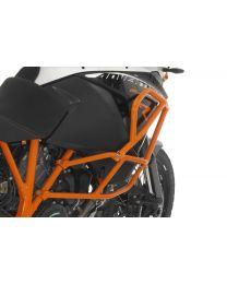 Touratech Crash bar extension KTM 1050 Adventure/ 1090 Adventure/ 1190 Adventure/ 1190 Adventure R for original KTM crash bars. orange