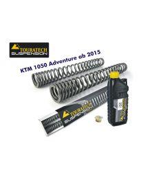 Touratech Progressive fork springs for KTM 1050 Adventure from 2015