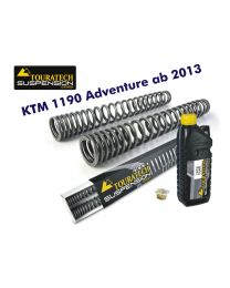Touratech Progressive fork springs for KTM 1190 Adventure from 2013