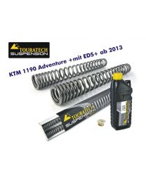 Touratech Progressive fork springs for KTM 1190 Adventure from 2013 +with EDS+