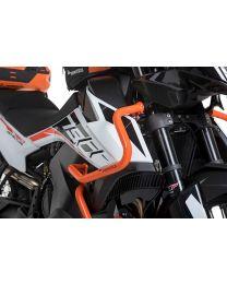 Touratech Stainless steel fairing crash bar, orange for KTM 790 Adventure/790 Adventure R