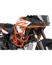 Touratech Crash bar extension orange for KTM 1290 Super Adventure S / R