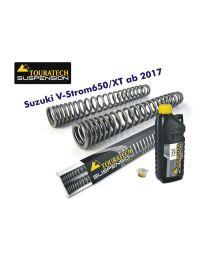 Touratech Progressive fork springs for Suzuki V-Strom 650/XT from 2017