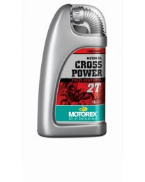 "Motorex Cross Power ""2T engine oil"" - 1 litre"