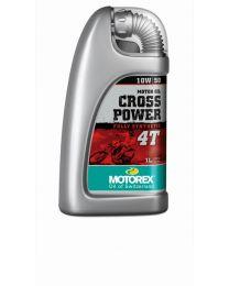 Motorex oil - Cross Power 4T 10W/ 50 - 1 Ltr.