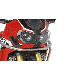 Headlight protector Makrolon with quick release fastener for Honda CRF1000L Africa Twin/ CRF1000L Adventure Sports