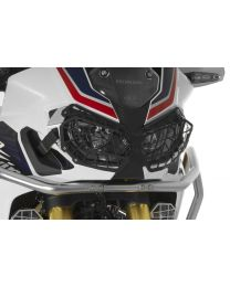 Aluminium black headlight protector with quick release fastener. for Honda CRF1000L Africa Twin/ CRF1000L Adventure Sports