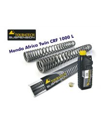 Touratech Progressive fork springs for Honda CRF1000L Africa Twin (2015-2017)