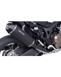 Remus Okami stainless steel silencer. black for Honda CRF1000L Africa Twin 2017. slip-on with ABE