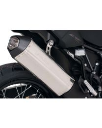 Remus Okami stainless steel silencer for Honda CRF1000L Africa Twin (2016). slip-on with ABE certification