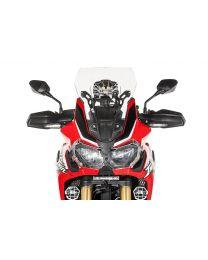 Touratech Windscreen. M. transparent. for Honda CRF1000L Africa Twin/ CRF1000L Adventure Sports