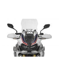 Touratech Windscreen. L. transparent. for Honda CRF1000L Africa Twin/ CRF1000L Adventure Sports