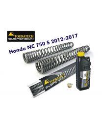 Touratech Progressive fork springs for Honda NC750S 2012-2017