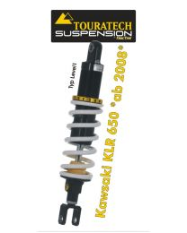 Touratech Suspension shock absorber for Kawasaki KLR650 from 2008 type Level1/Explore