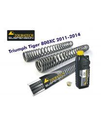 Touratech Progressive fork springs for Triumph Tiger 800XC 2011-2014