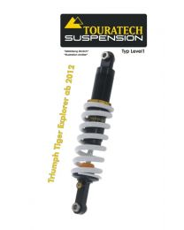 Touratech Suspension shock absorber for Triumph Tiger Explorer from 2012 type Level1