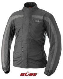 Rain jacket. black/grey size:l