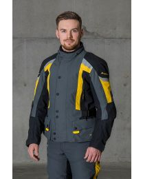 Compañero World2, Jacket, Men, Short, Yellow