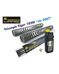 Touratech Progressive fork springs for Triumph Tiger 1050i *from 2007*