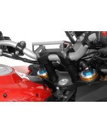 Handlebar riser 20 mm, Typ 33, for Ducati Multistrada 1260 and Multistrada 1200 up to 2014