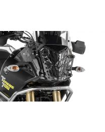 Touratech Headlamp guard black with quick release fastener for Yamaha Tenere 700 *OFFROAD USE ONLY*