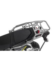 Touratech ZEGA Topcase / Luggage rack, stainless steel for Yamaha Tenere 700