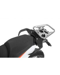Touratech ZEGA Pro topcase rack SILVER for KTM 790 Adventure/ 790 Adventure R