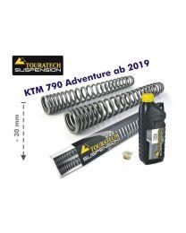 Touratech Progressive fork springs for KTM 790 Adventure from 2019 -30mm lowering