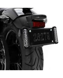 DENALI Dual License Plate LED Auxiliary Brake Lights