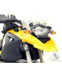 Denali Auxiliary Light Mounting Bracket for BMW R1200GS '04-'12 & GSA '05-'13